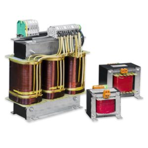 Galvanically isolated transformer